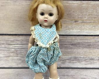 Vintage 1956 Vogue Ginny  doll mlw blonde hair blue eyes strawberry