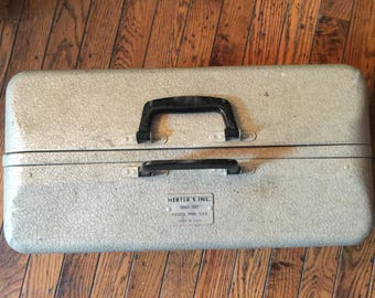 Vintage Herter's Aluminum Tackle Box Tacklebox