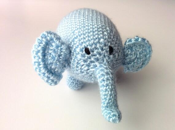 Amigurumi Patterns Elephant : Amigurumi elephant crochet slugom for