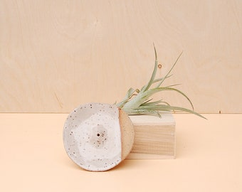 Modern Ceramic Incense Holder / White Incense Plate / Modern Home Decor