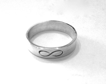 Infinity Ring, Valentines Day, infinity band, promise ring, gift for her