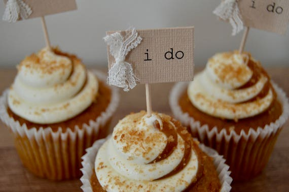 I do cupcake toppers rustic wedding cupcake tags burlap i do cupcake toppers rustic wedding cupcake tags burlap lace cupcake toothpicks i do tag baby shower cupcake tags cupcake toppers junglespirit Images