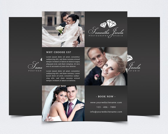 Photography Flyer Template For Photoshop X - Photography brochure templates