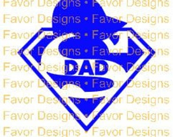Super Dad SVG JPEG Cut File, Digital Download, Circuit Ideas, SVG Cut Files, Circuit File, Silhouette File, Svg, Svgs, Superman, Clip Art