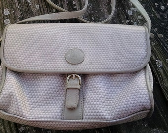 Liz Claiborne Tan Satchel/Shoulder Bag