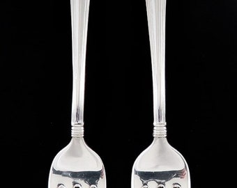Pair Fine Sterling Silver R. Blackinton & Co Marie Louise Forks