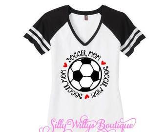 Soccer Mom shirt, Soccer ball shirt, Soccer Mom, Soccer Mom tee, Soccer Mom top, Soccer Mom shirt, custom soccer shirt, Mom spirit shirt