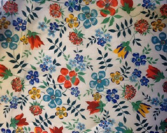 Tana lawn fabric from Liberty if London, Edenham.
