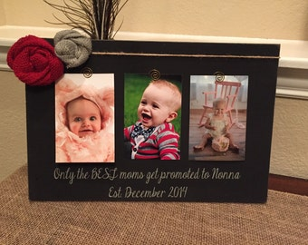 Grandma gigi frame mom mothers day mommy Personalized picture frame board aunt nana mimi grandma gift wood frame burlap any quote
