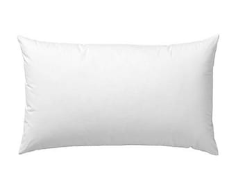 SALE // Cushion Insert – oblong rectangle pillow eco friendly washable non-allergenic antibacterial Australian made