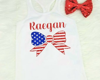 girls 4th of july shirt girls 4th of july tank girls fourth of july shirt girls fourth of july tank personalized 4th of july shirt racerback
