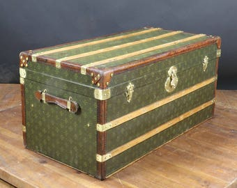 "R2482 trunk ""courrier anonymous monogram"""