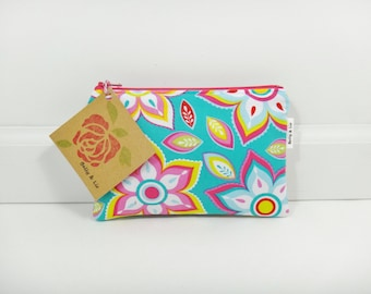 Bodilla Small Cosmetic Bag, Small Pouch, Makeup Bag, Small Pouch Purse, Small Cosmetic Pouch, Zipper Pouch, Makeup Pouch