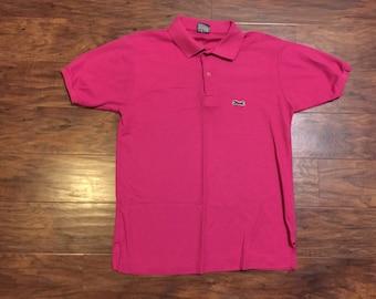 80s pink le Tigre polo shirt