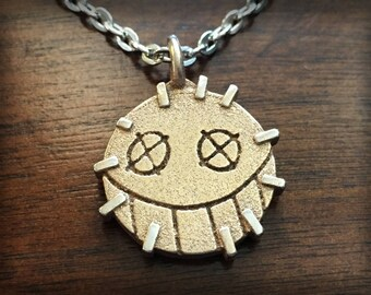Overwatch Junkrat Stainless Steel 3D Printed Pendant and Keychain