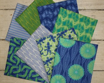 Terra Australis 2 Blue Fat Quarter Pack