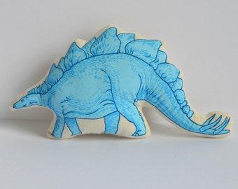 Silkscreen Stegosaurus Toy