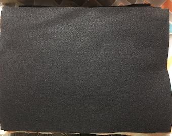 DESTASH 9x12 Black Felt Sheets