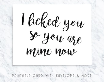 valentines cards, funny vday card, printable valentines card, sarcastic vday cards, printable vday cards, instant download