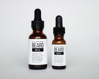 All Natural Beard Oil - Original Woodsy Scent