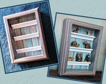 Collection Display Frame Display Case Kids Collection Storage Collection  Storage Personal Curio