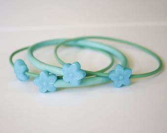 Re-purposed Vintage Knitting Needle Bracelets