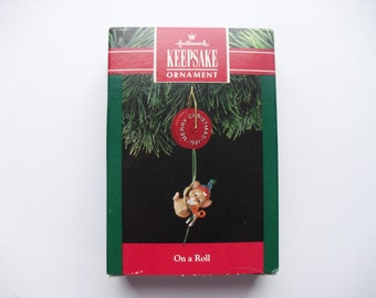 Hallmark ornament - On a Roll
