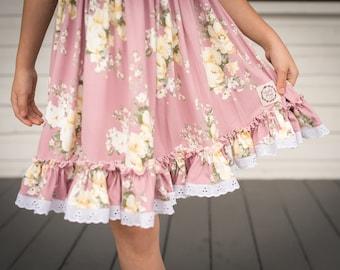 Cheeky Plum Elara Dress in Marvelous Mauve