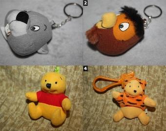 Winnie The Pooh Character Disney Keychains - SELECT ONE - Walt Disney