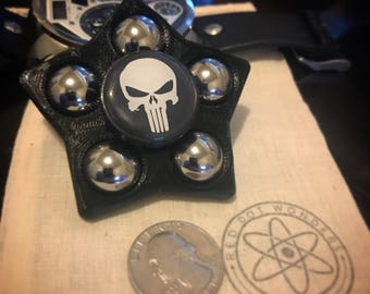 Punisher Fidget Spinner - EDC Spinner - Super Hero - Fidget Toy - 3D Printed - Marvel - Comics - Hand Spinner - EDC