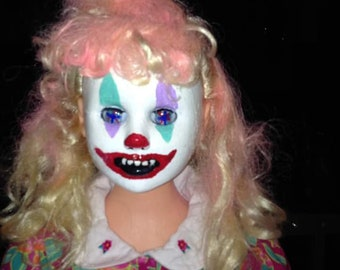 RESERVED- 40 inch Pinky the Clown Doll