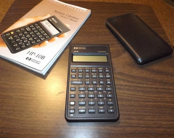 Vintage, Hewlett Packard, HP, financial Calculator, NOS, School Supplies, Mortgage Calculator, Office Supplies, Gift for Her, Gift for Him