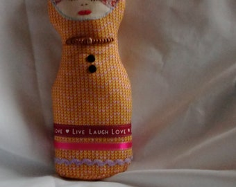 Russian cloth doll