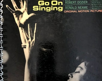 for the I Could Go On Singing (1963) Judy Garland FAN/ film soundtrack Album Cover Notebook /rare Vinyl!