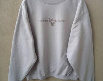 The Disney Studio Sweatshirts / Jumper / Crewneck / Pull Over / Cream Colour