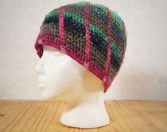 Wool Sun Spiral Beanie Adult Small