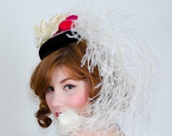 1950s vintage hat / designer hat / Irene of New York