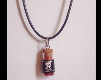Poison Bottle Vial Necklace