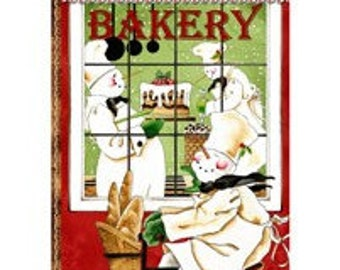 Bakers Dozen, Quilting Treasures, Snowmen Panel