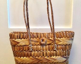 Bohemian Wicker Handbag