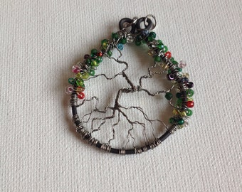 Delicate wire tree of life