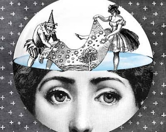 Lina Cavalieri daydream plate
