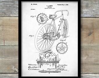 Speeder bike patent etsy bicycle patent print bicycle poster bicycle print bicycle art bicycle decor malvernweather Images