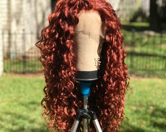 Merida Wig - Lace Front