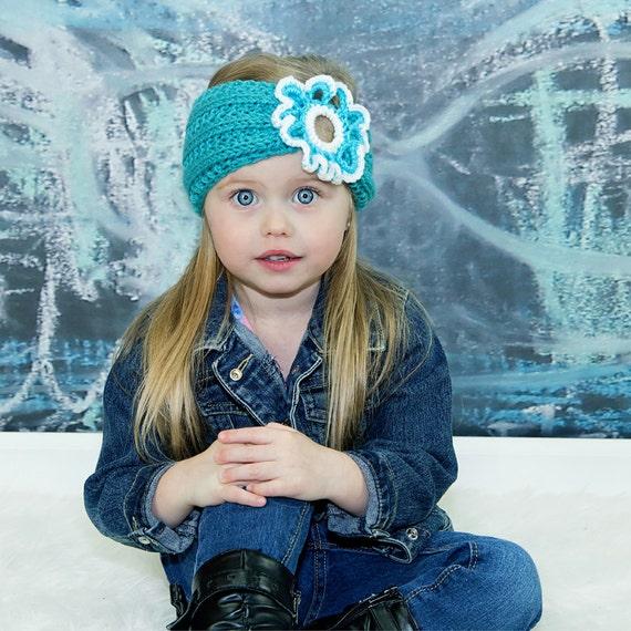 Kinder-Stirnbänder Kleinkind Stirnband häkeln Stirnband