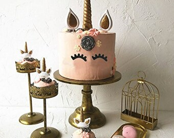 Unicorn Cake Topper Set