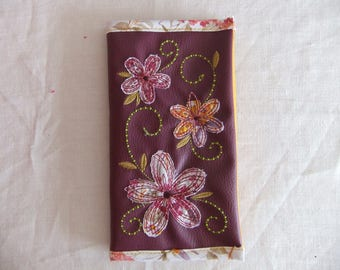 Card holder / wallet / checkbook cover