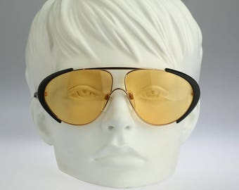 Silhouette M 8024 V 6050, Vintage aviator sunglasses, 80s rare and unique / NOS