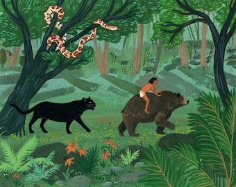 jungle book print