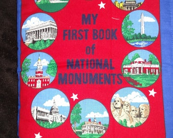 My First Book of National Monuments Cloth Book